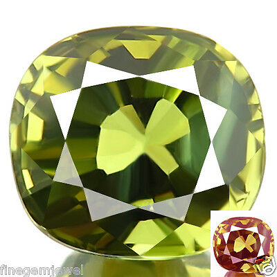 1.29ct IF-FLAWLESS RARE NATURAL BEST COLOR CHANGE ALEXANDRITE RARE GEMSTONE WOW!