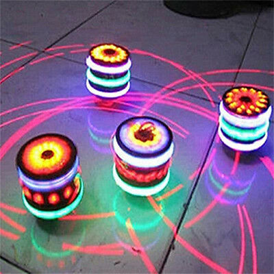 LED Colorful Light Show Top Gyroscope with Music Effects Children's Toy Gifts