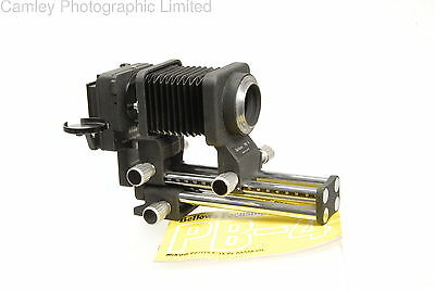 Nikon PB-4 & PS-4 Bellows. With swing and shift!. Condition – 4E [5869]