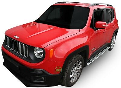 Jeep Renegade  2014- up  Running Boards Side Steps  PREMIUM QUALITY