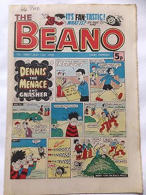 DC Thompson THE BEANO Comic. Issue 1869 May 13th 1978 **Free UK Postage**