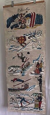 Holmenkollen Norway Skiing Ski Banner Nordic Olympics Decorative Flag C18