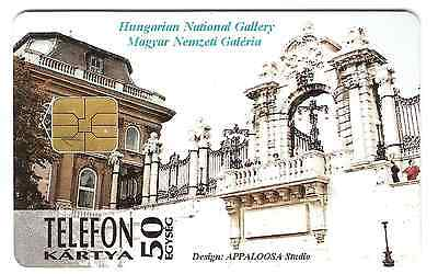 National Gallery Hungary phonecard used.