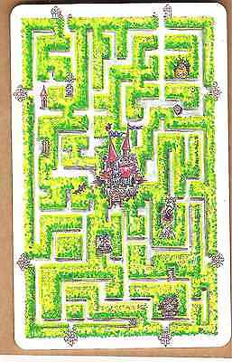 Maze chip phonecard Germany 1990s