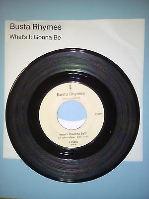 "Busta Rhymes - What's It Gonna Be?! 7"" Vinyl Jukebox Record"