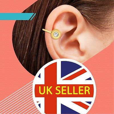 X3 Pairs Of Acupressure Magnetic Earclips ~ Helps To Lose Weight ~ Stop Smoking