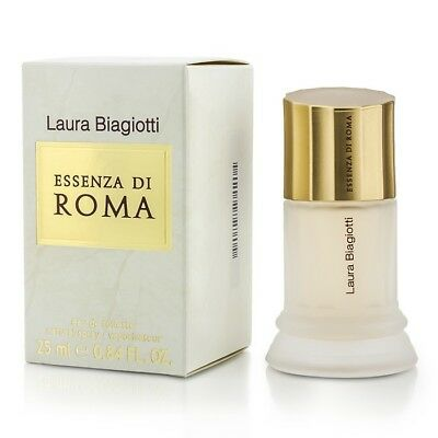 Essenza Di Roma EDT Eau De Toilette Spray 25ml by Laura Biagiotti Womens Perfume