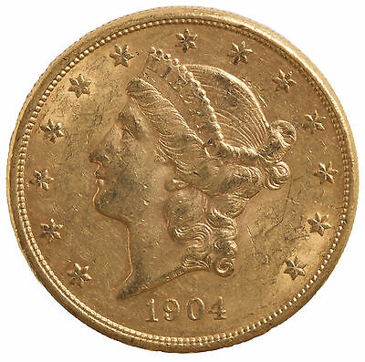 1904-S Gold $20 Liberty Head Coin