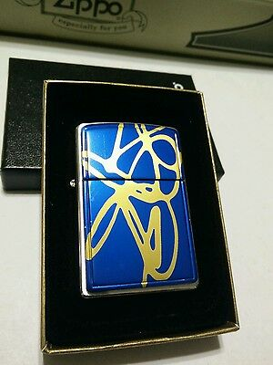 Zippo 20177 String Painting Blue Brand new in original box,US Shipping only.