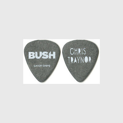 Bush Chris Traynor authentic 2012 concert tour custom stage band Guitar Pick