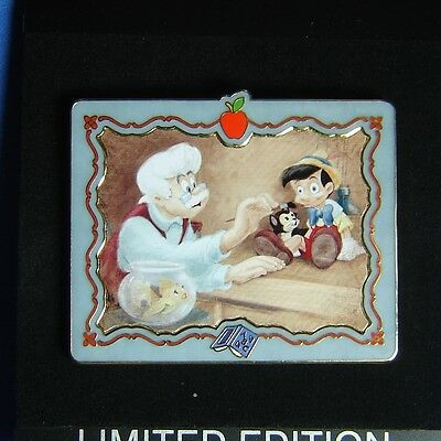 Pinocchio Classic Jumbo Easel Back Disney Shopping Pin LE 500 OC Geppetto Figaro