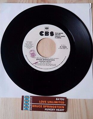 BRUCE SPRINGSTEEN love unlimited Disco Record juke box 45 giri VINILE VINYL 7 ""