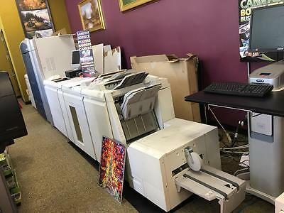 Xerox Color 1000 Press With 5th Color, only 284K copies