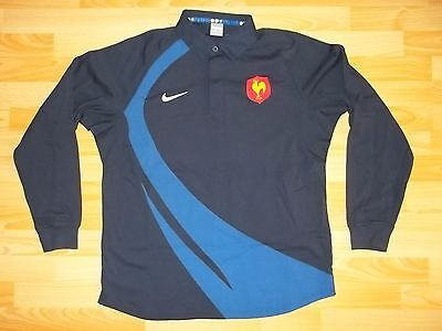 vintage Nike FRANCE home rugby jersey shirt size XL