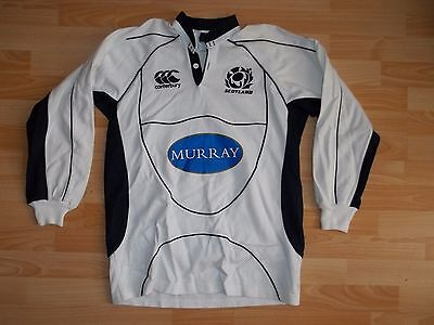 vintage Canterbury SCOTLAND 2007-09 away alternate rugby shirt jersey size S