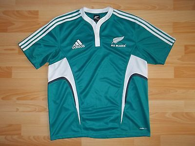 vintage Adidas New Zealand All Blacks Rugby shirt jersey size L LARGE