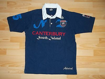 vintage Admiral Canterbury South Island rugby #15 jersey shirt size M MEDIUM