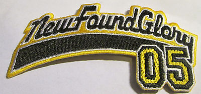 New Found Glory Collectable Rare Vintage Patch Embroided 2001 Metal Live  Punk