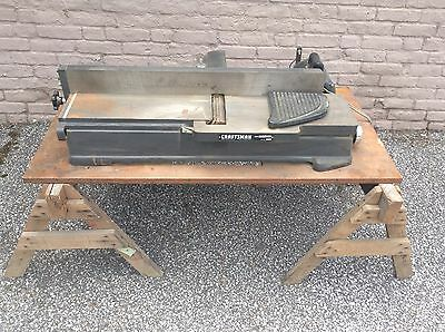 "Sears Craftsman 6"" Jointer woodworking machinery"