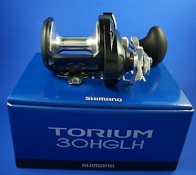 Shimano Torium 30 HGLH // TOR30HGAL // Sea Fishing Reel (Left Hand)