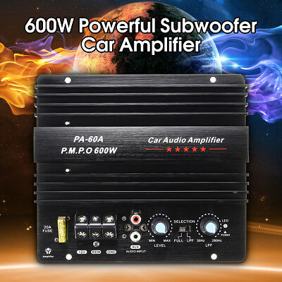 600W high-power Audio Momo amplifier Board Car Home Subwoofer Super Bass Amp 12V