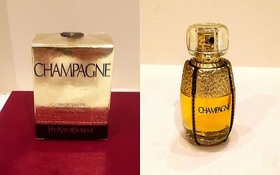 SEALED New Rare YSL Champagne Yvresse Perfume EDT refillable discontinued 20ml