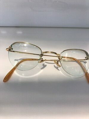 Antike  Gold Brille Optiker Sammlung 1890 Luxus vintage Gold RAR