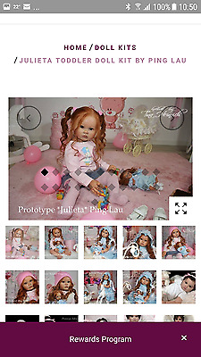 Brand New Just Received Toddler Kit Julieta By Ping Lau