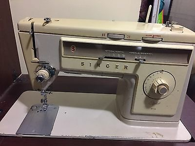 SINGER Stylist 513, SEWING MACHINE AND CABINE