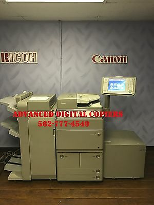 Canon Imagerunner Ir Advance 8205 Copier Printer Scanner * Low Meter * Must See