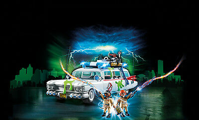 PLAYMOBIL® 9220 Ghostbusters™ Ecto-1 - NEW 2017 - S&H FREE WORLDWIDE