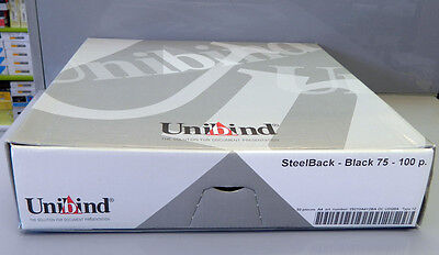 Unibind Steel back book covers job lot