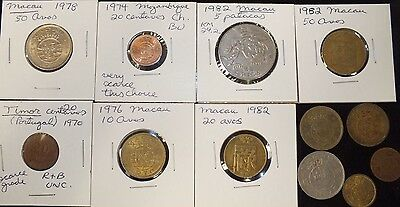 Lot of 12 Coins of Portuguese Colonies Choice C6