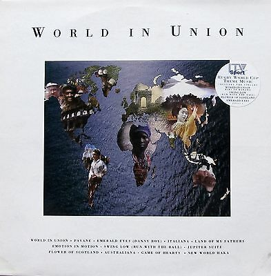 World In Union - Rugby World Cup Theme Music (Vinyl, Ex.Cond., 1991, 469047 1)