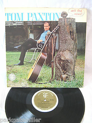 Tom Paxton-Ain`t That News ! LP 1965 Super Copy **SIGNED**