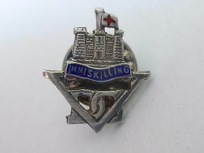Rare WW1 INNISKILLING DRAGOONS Sweetheart Brooch Badges X 2, c.1914.