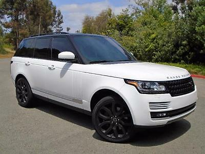 2014 Land Rover Range Rover Supercharged 2014 Land Rover Range Rover Supercharged MSRP of $113,025*Loaded One Owner