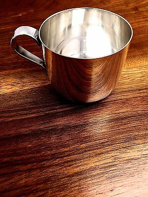 Tiffany & Co. Sterling Silver Baby or Christening Cup No Monogram