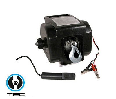 12V 2000Lb Electric Winch Trailer Boat Winch 4.8Mm Cable 900Kg Winch