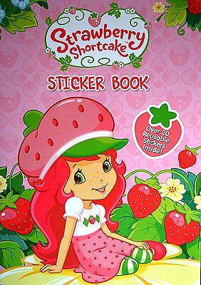 Strawberry Shortcake Sticker Book