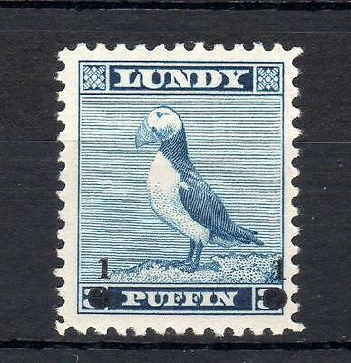 Lundy: 1965 Provisional Overprint Mounted Mint
