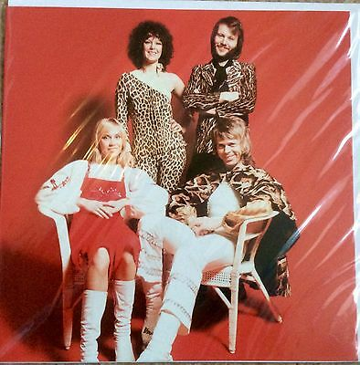 ABBA Greetings Card UK MINT Sealed *Agnetha Mamma Mia SOS Frida A Fernando