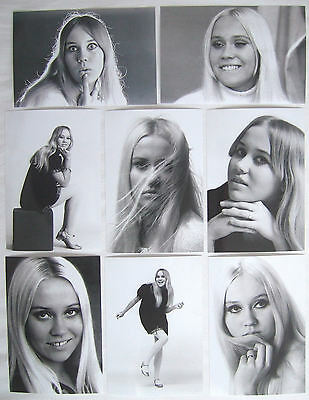 Agnetha Faltskog 60's Photo Set 2 *Mamma Mia ABBA Frida A Promo