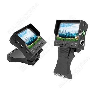 """4.3"""" TFT LCD Handy CCTV Camera Audio Video Security Tester Cable Monitor DC 12V"""