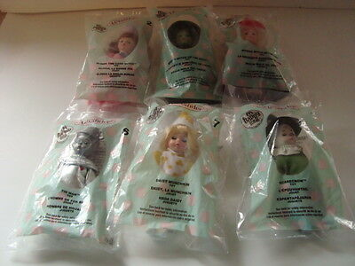 Madame Alexander Doll - Set of 6 Wizard of Oz - 2007 McDonald's Happy Meal Toys