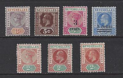 Seychells Early Mint Lot, Nice Mix
