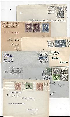Netherlands Early Cover Lot, Nice Range