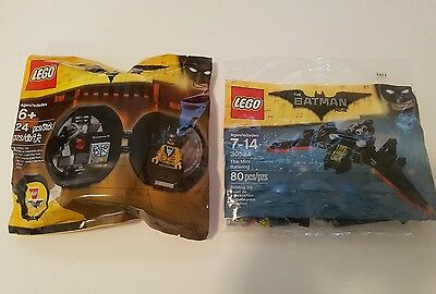 Lego Batman Movie promo polybag 30524 5004929 Batpod Batwing Tiger stripe tuxedo