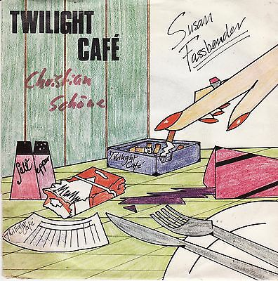 "Susan Fassbender Twilight Café Get Around It German 7"" 45 PS New Wave Synth-pop"