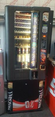 Vending Machine Hot And Cold Tea, Coffee, Snacks & Cans